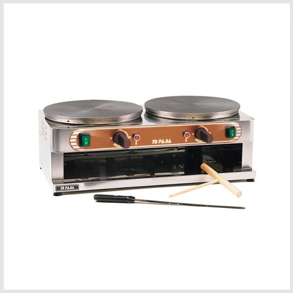Crêpière elettrica doppia – D35