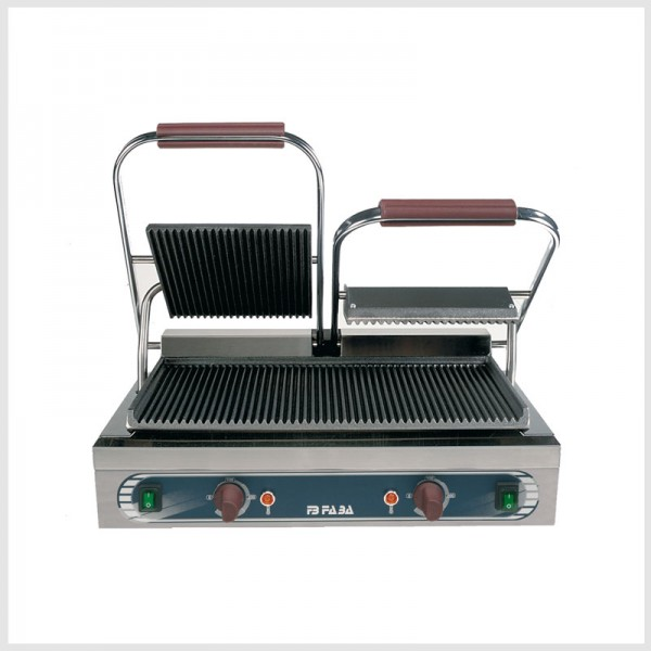 Electric cast iron double grill – DRE . serie E