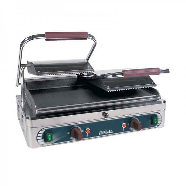 Electric cast iron double grill – DL2 . serie S