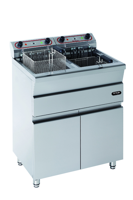 Electrical fryer on furniture  -MF12+12TS
