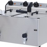 Electrical Counter Top Fryer  – ME 8+8M