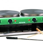 Crêpière elettrica doppia – D40