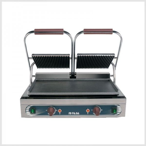 Electric cast iron double grill – DLE . serie E