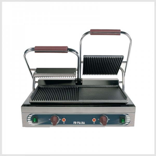 Electric cast iron double grill – DRLE . serie E