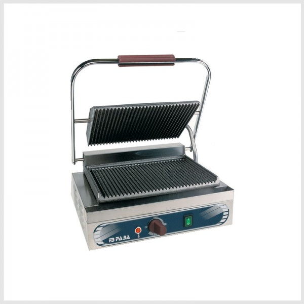 Electric cast iron grill single – SRE . serie E