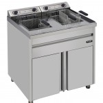 Electrical fryer on furniture   MF20+20TS