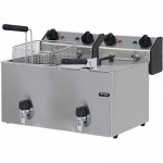 Electrical Counter Top Fryer  – ME 10+10T